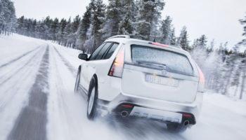 Vinterklar-bil